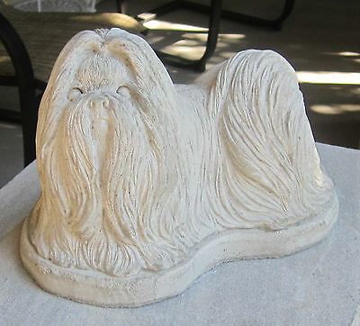 Concrete Lhasa Apso Statue Or Use As A Monument