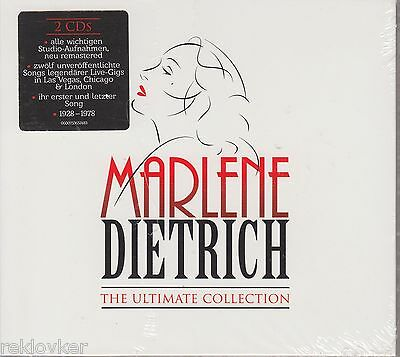 Marlene Dietrich / The Ultimate Collection (2 CDS, NEU!)