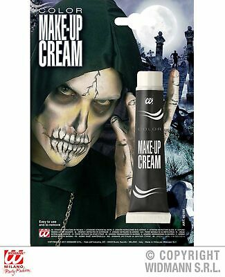 Widmann Color Make up cream schwarz Körperfarbe Schminkfarbe Halloween schwarze