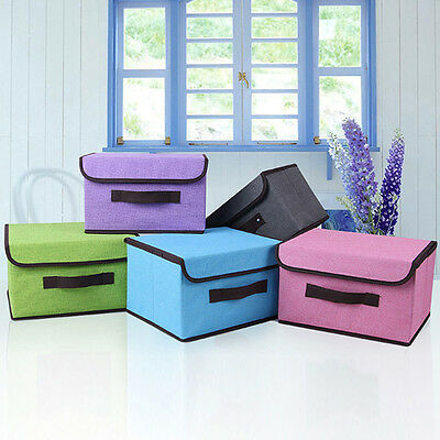 Home Draw Organiser Storage Boxes Wardrobe Drawers Clothes Holder Rack Bag