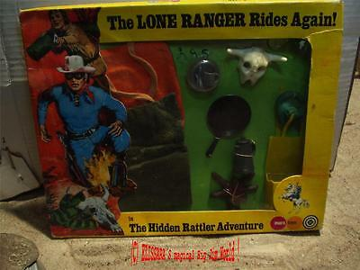Lone Ranger / Marx Outfit - The Hidden Rattler Adventure - Big Jim Karl May