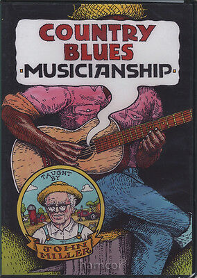 Country Blues Musicianship John Miller Guitar DVD Set