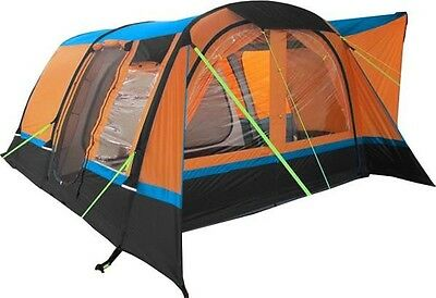 OLPro Cocoon Breeze Inflatable Campervan Drive Away Air Awning | Orange & Black