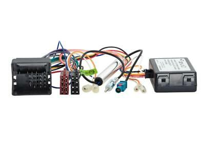 CAN-Bus Kit Citroen / Peugeot Quadlock > ISO / Antenne > DIN