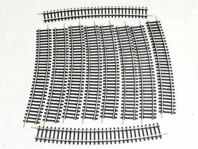 BTTB 6350 TT Gauge , 10 Pcs curved tracks R 600 , 15°