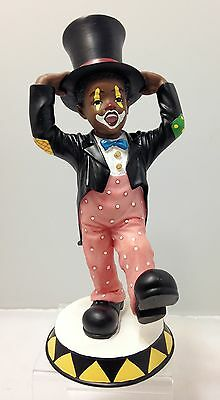 Ebony Boy Clown - All Dressed Up Figurine - United Treasures Collectible