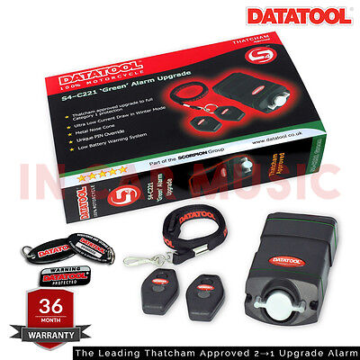 DATATOOL S4 GREEN Motorcycle/Scooter CAT 2 to 1 Alarm Upgrade