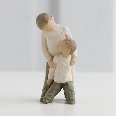 Willow Tree 'Brothers' Figurine Sentiment Ornament Gift, 26056