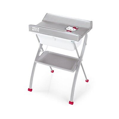 Changing table with bath Brevi Lindo - Hello Kitty 024 silver