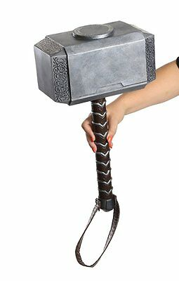 """18"""" inch THOR HAMMER Marvel Avengers Age of Ultron Costume Accessory"""