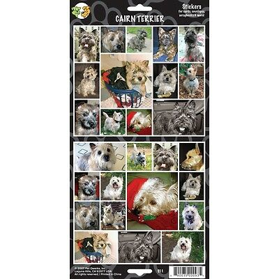Sheet Of 27 Cairn Terrier Stickers - Stickersx Dog Lovers Gift Personalise