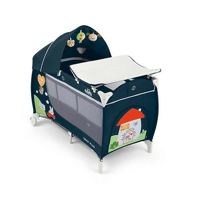 Travel cot with changing mat Daily Plus T222 CASETTA Cam