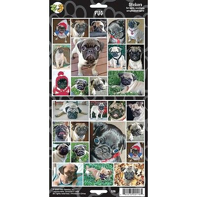 Pack Of 27 Pug Dog Stickers - Stickersx Lovers Gift Personalise Decorate