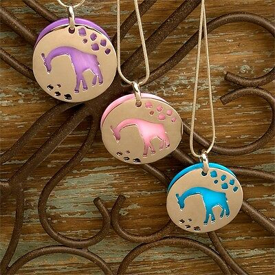 Wild Republic Giraffe Metal Necklace - Childrens Novelty African Animal
