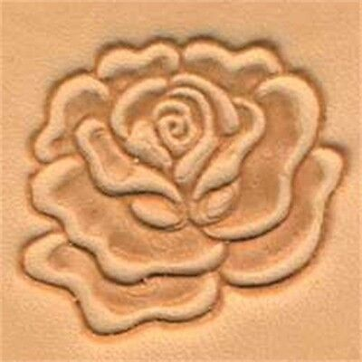 3d Rose Leather Stamp Tool - Craf Stamping Imprint Tandy 88493-00