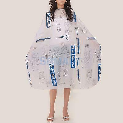 Hair Cutting Hairdresser Hairdressing Salon Barber Gown Apron Cape Cloth