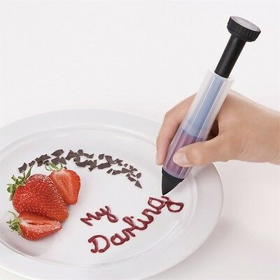 Silicone Cake Decorator With Writing Tip - Probus Silcone Bakeware Baking