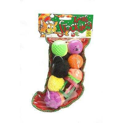 Mini Cat's Christmas Stocking - Paul Lamond Cat Chrismas Cats Pets Toys With