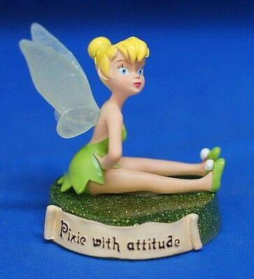 Tinker Bell PIXIE WITH ATTITUDE Resin Figurine 17757 Disney Peter Pan