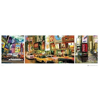 New York Times Square Midi Poster - 30.5x 91.5cm Cities Travel Photographic