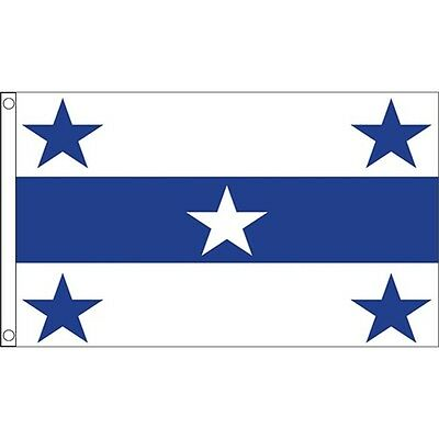 5ft x 3ft Gambier Islands Flag - France French 5ft (150cm 90cm) With Metal