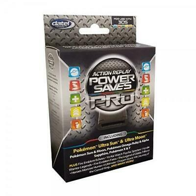 Datel Action Replay Power Saves PRO Cheat Codes for Nintendo 3DS 2DS XL NEW