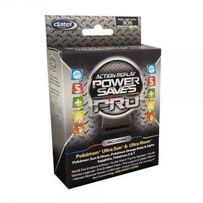 Datel: Action Replay Power Saves PRO [Nintendo 3DS 2DS XL, Saves Cheats Codes]