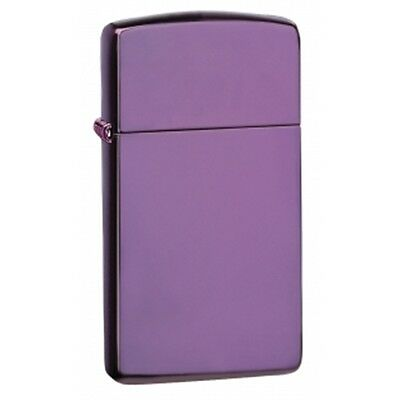 Slim Thin Abyss Zippo Lighter - Small Pocket Gift Present Smokers Accessory