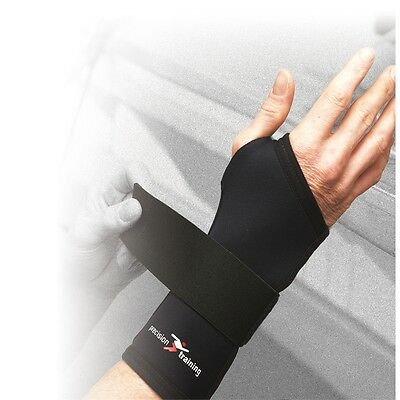 Large Neoprene Wrist Support - Adjustable Hand Brace Guard L