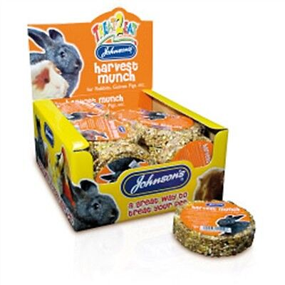 Harvest Munch For Rabbits And Guinea Pigs - Johnsons Vet , Etc 70g Treat Pet