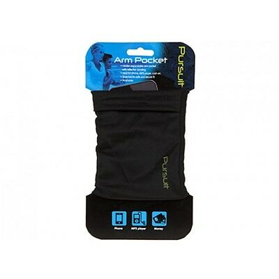 Reflective Running Arm Pocket - Summit Pursuit End Game Money Phone Secure