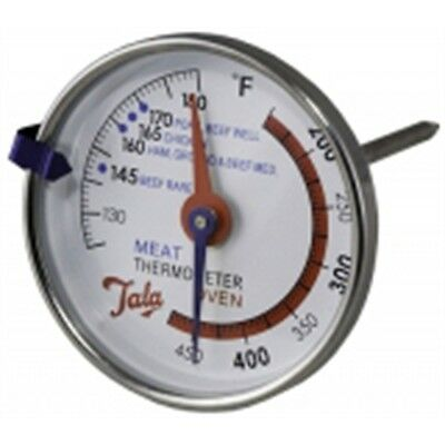 Dual Meat And Oven Thermometer - Tala Stainless Steel & Roasting Cooking Kitchen