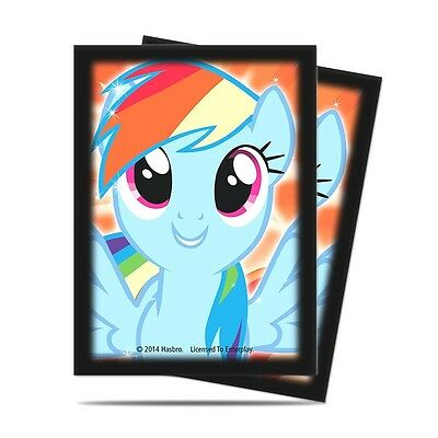 Ultra Pro Sleeves My Little Pony Rainbow Dash 65 C60 Card Game