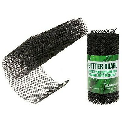 2m x 160mm Protective Gutter Mesh - Guard Guard Filter Stops Leaves Drains
