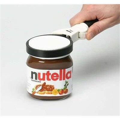 Large Rubber Jar And Bottle Opener - Adjustable Strap Fits Any Easy Opening