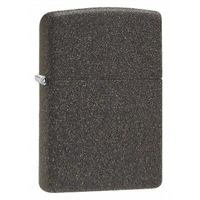 Regular Iron Stone Zippo Lighter - Pocket Small Gift Present Smokers Accessory