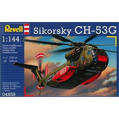 1:144 Revell Sikorsky Ch-53g - Model Kit Heavy Transport Helicopter 1.144 Scale