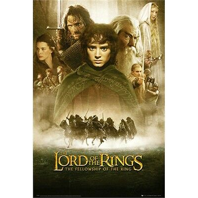 Lord Of The Rings Fellowship Of The Ring Maxi Poster - One Sheet 61x 91.5cm Film