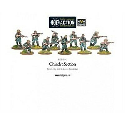 Chindit Section Miniatures - Warlord Games Bolt Action World War 2 Downed Raf