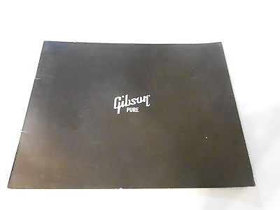 Vintage Musical Instrument Catalog #10119 - 2001 Gibson Guitars - Pure