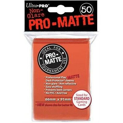 Ultra Pro Sleeves Pro-matte D12 Card Game (peach)