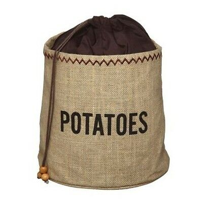 Hessian Potato Preserving Bag With Blackout Lining - Stops Sprouting