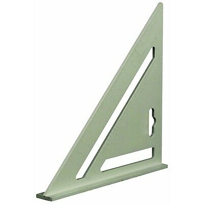 185mm Aluminium Roofing Rafter Square - Silverline Heavy Duty Tri Mitre Roof