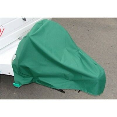 Green Caravan Hitch Cover - Waterproof Protective Case Bag Camping Vehicle