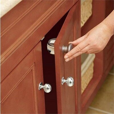 Safety 1st Magnetic Cupboard Lock 2 Pack - 2pk Locks Catch Baby Proofing