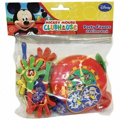 Amscan 996003 Mickey Mouse 24 Favour (pack Of 4) - Pack Party Piece Party