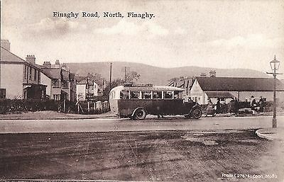 northern ireland postcard ulster irish antrim finaghy belfast
