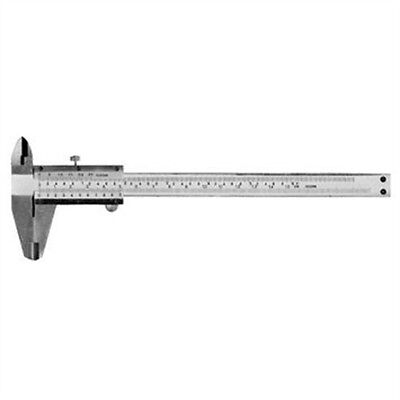 150mm Silverline Vernier Caliper - High Carbon Steel Precision Measurement Tool