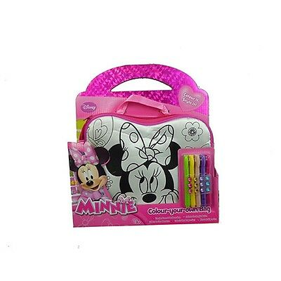 Minnie Mouse - Colour Your Own Bag