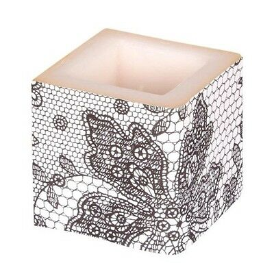 Amscan International 8 x 8cm Candle, Black And White - 8 & Candle Party